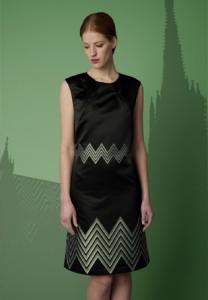 Wien Kleid mit Stephansdom Stoff